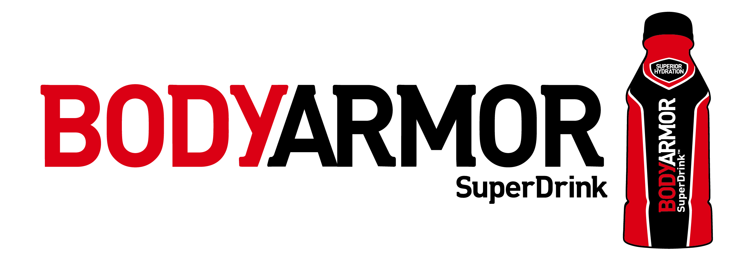 Body Armor logo and bottle